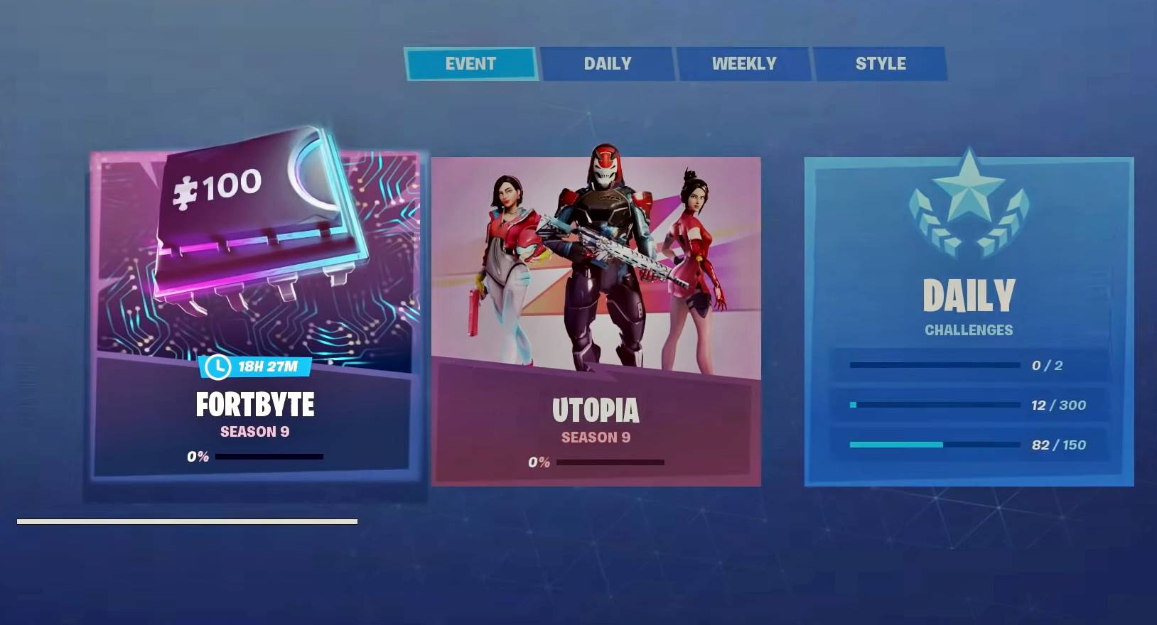 Image result for fortnite season 9 fortbytes